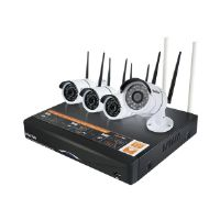 Plustek NVR Wireless Kit - DVR + camera(s) - wireless, wired - 4 channels - 4 camera(s)