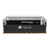 Corsair Dominator Platinum - DDR4 - 32 GB : 4 x 8 GB - DIMM 288-pin - 3200 MHz / PC4-25600 - CL16 - 1.35 V - unbuffered - non-ECC - with 2 x Dominator Airflow Platinum LED Fan