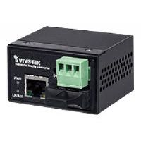 Vivotek AW-IHS-0201 - Fiber media converter - Fast Ethernet - 10Base-T, 100Base-TX - RJ-45 / SC single-mode - up to 18.6 miles