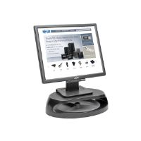 "Tripp Lite Universal Monitor Riser Stand w Accessory Tray Laptop Printer 4"" - Monitor stand - gray, black"