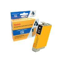 Kodak - High Yield - black - remanufactured - ink cartridge (equivalent to: Epson T125120) - for Epson Stylus NX230 Small-in-One, NX420, NX530; WorkForce 520
