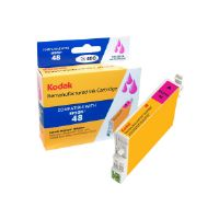 Kodak - High Yield - magenta - remanufactured - ink cartridge (equivalent to: Epson T048320) - for Epson Stylus DX3800; Stylus Photo R200, R220, R300, R320, R340, RX500, RX600, RX620, RX640