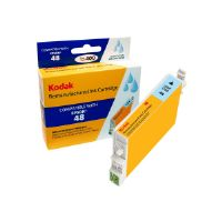 Kodak - High Yield - light cyan - remanufactured - ink cartridge (equivalent to: Epson T048520) - for Epson Stylus DX3800; Stylus Photo R200, R220, R300, R320, R340, RX500, RX600, RX620, RX640