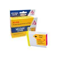 Kodak LC51M-KD - High Yield - magenta - remanufactured - ink cartridge (equivalent to: Brother LC51M) - for Brother DCP-130, 330, 350, 540, MFC-230, 3360, 440, 465, 5460, 5860, 665, 685, 845, 885