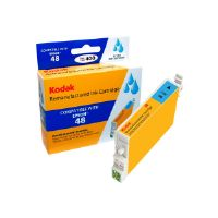 Kodak - High Yield - cyan - remanufactured - ink cartridge (equivalent to: Epson 48) - for Epson Stylus DX3800; Stylus Photo R200, R220, R300, R320, R340, RX500, RX600, RX620, RX640