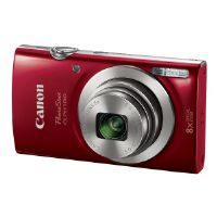 Canon PowerShot ELPH 180 - Digital camera - compact - 20.0 MP - 720p / 25 fps - 8x optical zoom - red