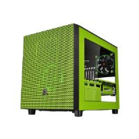 Thermaltake Core X5 - Riing Edition - cube - extended ATX - no power supply (PS/2) - green - USB/Audio