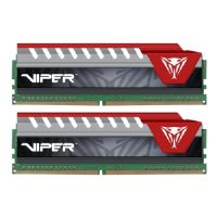 Patriot Extreme Performance Viper Elite - DDR4 - 16 GB: 2 x 8 GB - DIMM 288-pin - 3200 MHz / PC4-25600 - CL16 - 1.35 V - unbuffered - non-ECC - black, red