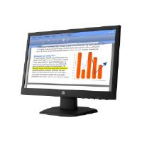"HP V194 - LED monitor - 18.5"" ( 18.5"" viewable ) - 1366 x 768 - TN - 200 cd/m2 - 600:1 - 5 ms - VGA - Smart Buy"