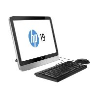 "HP 19-2404 - All-in-one - 1 x E1-6010 1.35 GHz - RAM 4 GB - HDD 1 TB - DVD SuperMulti - Radeon R2 - GigE - WLAN : 802.11b/g/n - Win 10 Home 64-bit - Monitor : LED 19.45"" 1600 x 900 ( HD+ )"