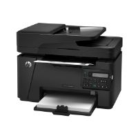 HP LaserJet Pro MFP M127fn - Multifunction printer - B/W - laser - Legal (8.5 in x 14 in) (original) - A4/Legal (media) - up to 21 ppm (copying) - up to 21 ppm (printing) - 150 sheets - 33.6 Kbps - US