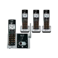 AT&T CL82413 - Cordless phone - answering system with caller ID/call waiting - DECT 6.0 + 3 additional handsets