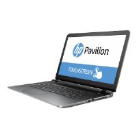 "HP Pavilion 17-g145ds - Core i3 6100U / 2.3 GHz - Win 10 Home 64-bit - 8 GB RAM - 1 TB HDD - DVD SuperMulti - 17.3"" touchscreen 1600 x 900 ( HD+ ) - HD Graphics 520 - natural silver, horizontal brushe"