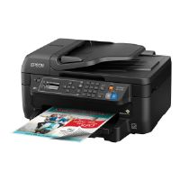Epson WorkForce WF-2750 - Multifunction printer - color - ink-jet - Legal (8.5 in x 14 in) (original) - A4/Legal (media) - up to 11 ppm (copying) - up to 13.7 ppm (printing) - 150 sheets - 33.6 Kbps -