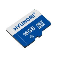 Hyundai - Flash memory card ( microSDHC to SD adapter included ) - 16 GB - UHS-I / Class10 - microSDHC UHS-I