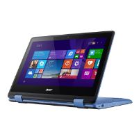 "Acer Aspire R 11 R3-131T-P0KR - Flip design - Pentium N3710 / 1.6 GHz - Win 10 Home 64-bit - 4 GB RAM - 64 GB eMMC - 11.6"" touchscreen 1366 x 768 (HD) - HD Graphics 405 - Wi-Fi, Bluetooth - black, blu"