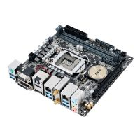 ASUS H170I-PRO/CSM - Motherboard - mini ITX - LGA1151 Socket - H170 - USB 3.0 - Bluetooth, 2 x Gigabit LAN, Wi-Fi - onboard graphics (CPU required) - HD Audio (8-channel)