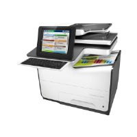 HP PageWide Enterprise Color Flow MFP 586z - Multifunction printer - color - page wide array - Legal (8.5 in x 14 in) (original) - A4/Legal (media) - up to 50 ppm (copying) - up to 75 ppm (printing) -