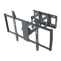 "Manhattan Universal LCD Full-Motion Large-Screen Wall Mount - Wall mount for LCD / plasma panel - steel - black - screen size: 60""-100"""