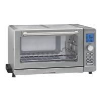 Cuisinart Deluxe TOB-135 - Electric oven - convection - 18 qt - brushed stainless steel