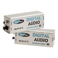 Gefen ex-tend-it Digital Audio Extender Sender and Receiver Unit - Audio extender - up to 330 ft (EXT-DIGAUD-141)