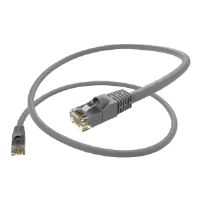 Oncore - Patch cable - RJ-45 (M) to RJ-45 (M) - 1 ft - UTP - CAT 6 - stranded, snagless - gray