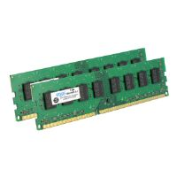 EDGE - DDR3 - 8 GB : 2 x 4 GB - DIMM 240-pin - 1333 MHz / PC3-10600 - unbuffered - non-ECC