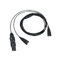 VXI Y Cord-G with Inline Mute - Headset amplifier splitter - headset amplifier modular plug (M) to headset amplifier modular plug (M)