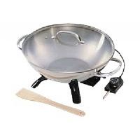 Presto - Electric wok - 1500 W - stainless steel