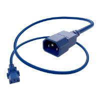 Oncore - Power cable (250 VAC) - IEC 320 EN 60320 C13 - IEC 320 EN 60320 C14 - 2 ft - blue