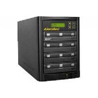 The Aleratec 1:3 DVD/CD Copy Tower Stand-Alone duplicator incorporates the latest 22x DVD recorders for simultaneous DVD copies at up to 22x speed ...