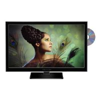 "PROSCAN PLEDV2488A - 24"" Class LED TV - with built-in DVD player - 1080p (Full HD)"