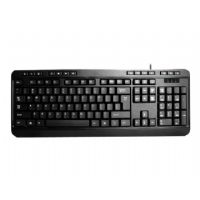 Adesso Multimedia Desktop AKB-132PB - Keyboard - PS/2 - US