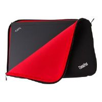 "Lenovo ThinkPad Fitted Reversible Sleeve - Notebook sleeve - 14"" - black, red - for ThinkPad E440; L440; L450; T440; T450; X1 Carbon; ThinkPad Yoga 14 (4X40E48910)"