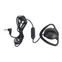 zCover ZUPT2QCK Push-To-Talk Ear-Mic-Phone - Headset - over-the-ear mount - black