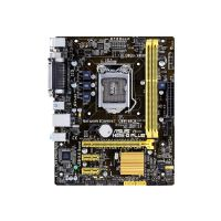 ASUS H81M-D PLUS - Motherboard - micro ATX - LGA1150 Socket - H81 - USB 3.0 - Gigabit LAN - onboard graphics (CPU required) - HD Audio (8-channel)