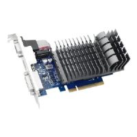 ASUS 710-2-SL-CSM - Graphics card - GF GT 710 - 2 GB DDR3 - PCIe 2.0 - DVI, D-Sub, HDMI - fanless