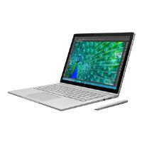 "Microsoft Surface Book - Tablet - with detachable keyboard - Core i7 6600U / 2.6 GHz - Win 10 Pro 64-bit - 16 GB RAM - 512 GB SSD - 13.5"" touchscreen 3000 x 2000 - GF 940M - Wi-Fi - silver - kbd: Engl"