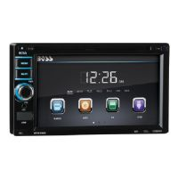 BOSS BV 9368I - DVD receiver - display - 6.2 in - touch screen - in-dash unit - Double-DIN - 80 Watts x 4