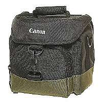 Canon offers this Gadget Bag 100EG. This waterproof bag holds 1-2 cameras and 3-4 lenses with room for accessories. It features front and rear zipp...