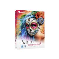 Corel Painter Essentials - ( v. 5 ) - box pack - 1 user - DVD ( mini-box ) - Win, Mac - English, French (PE5EFAMMB)