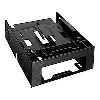 "Cremax ICY Dock MB343SP - Storage bay adapter - 5.25"" to 1 x 3.5"" and 2 x 2.5"" - black"