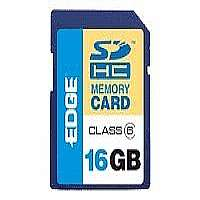 EDGE ProShot - Flash memory card - 16 GB - Class 6 - SDHC