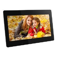 "Aluratek ADMPF118F - Digital photo frame - flash 4 GB - 18.5"" - 1366 x 768 - black"
