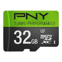 PNY Turbo Performance High Speed - Flash memory card - 32 GB - UHS Class 3 / Class10 - microSDHC UHS-I