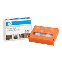 HP DDS/DAT cleaning cartridge II - DAT-160 - orange - cleaning cartridge - for StorageWorks DAT 160; StorageWorks Rack-Mount Kit DAT 160