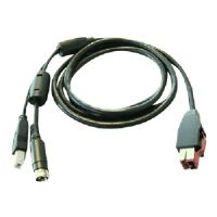 HP - PoweredUSB cable - for Point of Sale System ap5000, rp3000, rp5700, rp5800