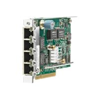 HP Ethernet 1Gb 4-port 331FLR - Network adapter - PCI Express 2.0 x4 - 10Mb LAN, 100Mb LAN, Gigabit LAN - 4 ports - for ProLiant DL360p Gen8, DL380p Gen8, DL385p Gen8, DL560 Gen8, SL250s Gen8, SL270s 