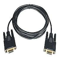 Tripp Lite Null Modem Serial RS232 Cable DB9 - Null modem cable - DB-9 (F) - DB-9 (F) - 6 ft - molded