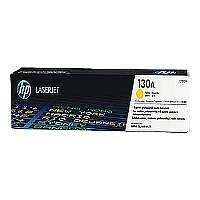 HP 130A CF352A Yellow Original LaserJet Toner Cartridge - up to 1,000 pages